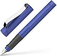 Schneider 施耐德 Base Uni鋼筆,中號筆尖,藍墨水,藍筆桿,1支(160203)