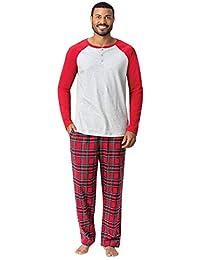 Addison Meadow 男式睡衣套装 - 男式睡衣套装,插肩上衣