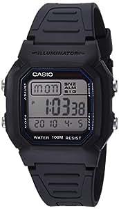 Casio 卡西欧男士 W800H-1AV 经典运动手表(黑色表带)