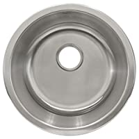 LessCare L101 顶部/底层 不锈钢 单碗 *吧或准备水槽,42.56 cm 宽,灰色