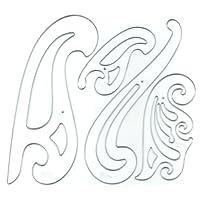 Westcott 法式塑料曲线套装 (FC-4)