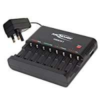 "ANSMANN Powerline 4 Pro""UK & Euro"" Charger for AA & AAA batteries"