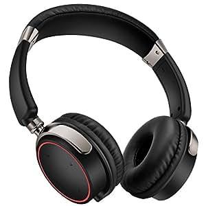 歌杰仕B200无线头戴式蓝牙耳机3D立体声耳机高解析度HIFI音质便携音乐耳机可旋转支持免提通话有线无线两用耳塞
