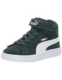 PUMA 彪马 Smash V2 Mid Velcro 儿童运动鞋