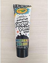 Crayola 浴缸手指涂料香皂神秘颜色