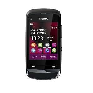 诺基亚C2-02(NOKIA C2-02) 触键双控手机(黑色)