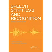 Speech Synthesis and Recognition (English Edition)
