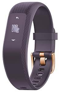 Garmin 佳明 vivosmart 3 紫色 智能运动光学心率手环 心率实时监测 自动睡眠监测 来电提醒运动蓝牙手表S/M号