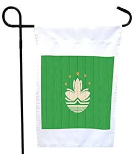 Rikki Knight 澳洲国旗做旧木屋或花园旗,尺寸为 27.94 x 27.94 cm 图片,30.48 x 45.72 cm