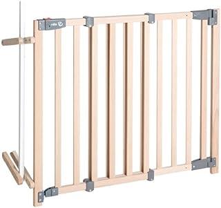 护栏门,*、无障碍,木质。 Schutzgitter mit Ampelfunktion 93.5 - 120.5 cm