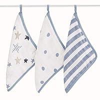 aden + anais 毛巾 3 件套,摇滚明星