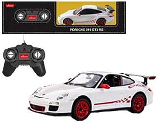 27MHz 1/24 R/C汽车 保时捷911 GT3 RS 白色 电动收音机控制 14231