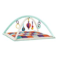 B.Toys 比乐 宝宝健身毯 爬行毯 爬行垫 可水洗柔软舒适 感官训练玩具 早教 婴幼儿童益智玩具 礼物 0个月+ BX1385Z