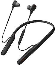 Sony 索尼 WI-1000XM2 无线蓝牙高分辨率入耳式耳机(降噪,耳机,免提设备,亚马逊Alexa,10小时电池,颈带风格)WI1000XM2B.CE7 onesize