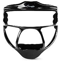 Champion Sports 镁成人垒球外野手面具,黑色