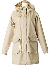 Vics 帕克 雨衣 全2色 均码 轻量 带收纳袋 米色 BE-76013