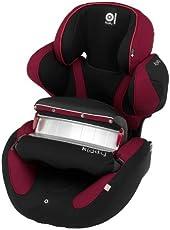 德国Kiddy奇蒂儿童汽车安全座椅超能者(energy-pro)系列-黑红色(适合9-18kg,9个月-4岁,经典前置护体,蜂窝吸震材料)