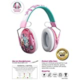 儿童耳罩和耳机二合一降噪耳机,超轻
