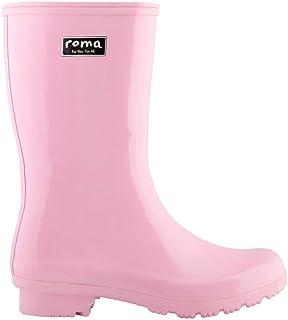 Roma Boots 儿童 ABEL 儿童雨靴 粉色 大童 3