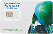 Lycamobile USA 完整 SIM 套件 - 白色