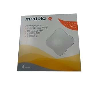 Medela 美德乐 清凉舒爽有效缓解疼痛水凝胶乳房护垫(4PC)(瑞士进口)