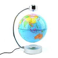 Gifts 4 All Occasions Limited SHATCHI-972 LED 磁性浮动地球球,适用于家庭,圣诞礼物,多色