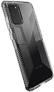 Speck Products 兼容手機殼適用于三星 Galaxy S20+, Presidio Perfect 手機殼136375-5085 Clear Grip/Clear