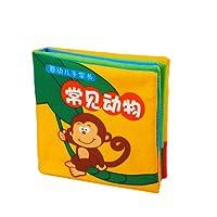 LALABABY 拉拉布书 宝宝手掌书系列 常见动物