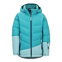 Marmot 儿童女孩弹射雪外套,700 填充动力,滑雪和滑雪板穿着,防风,防水,透气