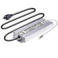 Idealy 150W DC 12V Ip67 防水 LED 电源驱动器变压器适配器适用于带 Outdoo 照明带 12V 120W