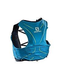 Salomon 萨洛蒙 中性 ADV SKIN 5 SET 户外运动越野跑步休闲双肩背包 L40410500 浪花蓝 M/L