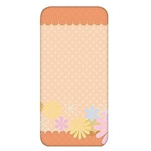 智能手机壳 透明 印刷 对应全部机型 cw-916top 套 花朵图案 柔和颜色 UV印刷 壳WN-PR499102 Xperia Z5 Premium SO-03H 图案C