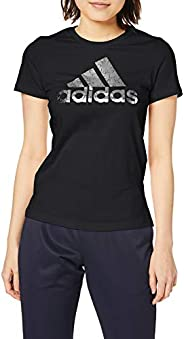 adidas 阿迪达斯 训练服 W GFX FOIL BOS T恤 GZO73 女士