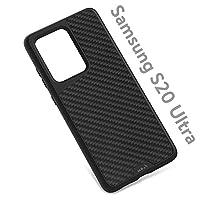 Mous - 三星 Galaxy S20 Ultra 保护壳 - Limitless 3.0 - 芳纶纤维/竹/黑色皮革/棕色皮革/斑点黑色皮革/胡桃木 Aramid Fibre