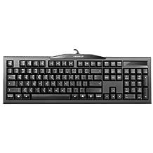 CHERRY 樱桃MX-BOARD2.0黑色红轴G80-3800LYAEU-2机械键盘 (德国工艺)(新老版本更替,随机发货- logo,背面贴标微调)