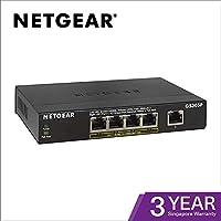 NETGEAR 千兆位不可控制的交換機 黑色 5 Port Gigabit + PoE