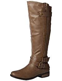 Rampage Women's Hansel Wide Calf Riding Boot