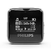 Philips 飞利浦 SA2208BK 8G MP3播放器飞利浦 背夹式MP3 黑色