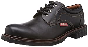 Lee Cooper Men's Leather Boat Shoes