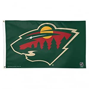 Wincraft Detroit Red Wings 3x5 Flag Minnesota Wild 3'X5'