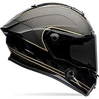 Bell 706959 Racestar 摩托車頭盔 Speed Check,黑色啞光/金色 M 多色 7069592