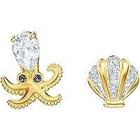 施华洛世奇海洋章鱼耳环,多色,混合镀层 5462583