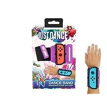 Just Dance 2019 – 舞蹈乐队 – JoyCon 任天堂切换控制器袖口 – 可调节松紧带带,适合左右 Joy-Cons