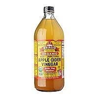 Bragg - 有机苹果汁醋与母亲 - 32盎司