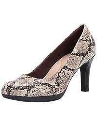 Clarks 女士 Adriel Viola 正裝高跟鞋