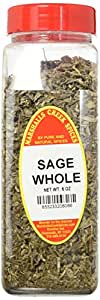 Marshalls Creek Spices X-Large Seasonings, Sage Whole, 6 Ounce