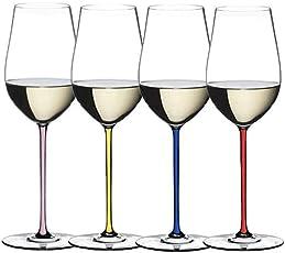 RIEDEL醴铎中国区限定版白葡萄手工高脚杯1只 4900/15R 蓝杆白葡萄酒杯 1只盒装(亚马逊自营商品, 由供应商配送)