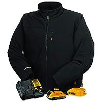 DeWalt 20V 黑色软壳加热夹克,带电池套件 中 DCHJ060ABD1-M