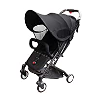 Joyooss 遮阳罩通用遮阳篷遮阳罩适用于婴儿车汽车座椅
