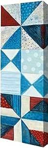 "PrintArt GW-POD-38-24640-7x20 ""Modern Americana Panel I""由 Melissa Averinos Gallery Wrapped Giclee 油画艺术微喷 10"" x 30"" GW-POD-38-24640-10x30"